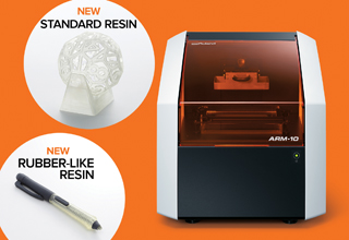 New Resins for Roland ARM-10 3D Printer.feature