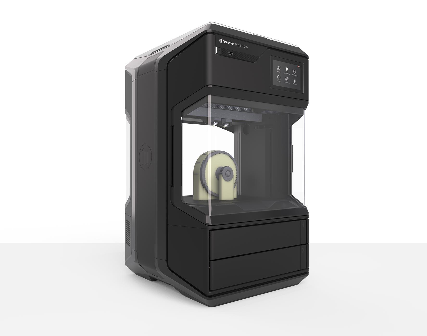 Method 3D printer fills the gap between desktop and